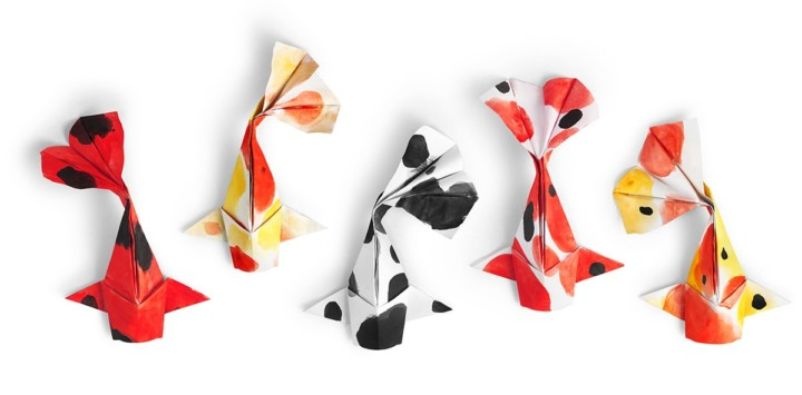 learn how to make beautiful origami art with inamo