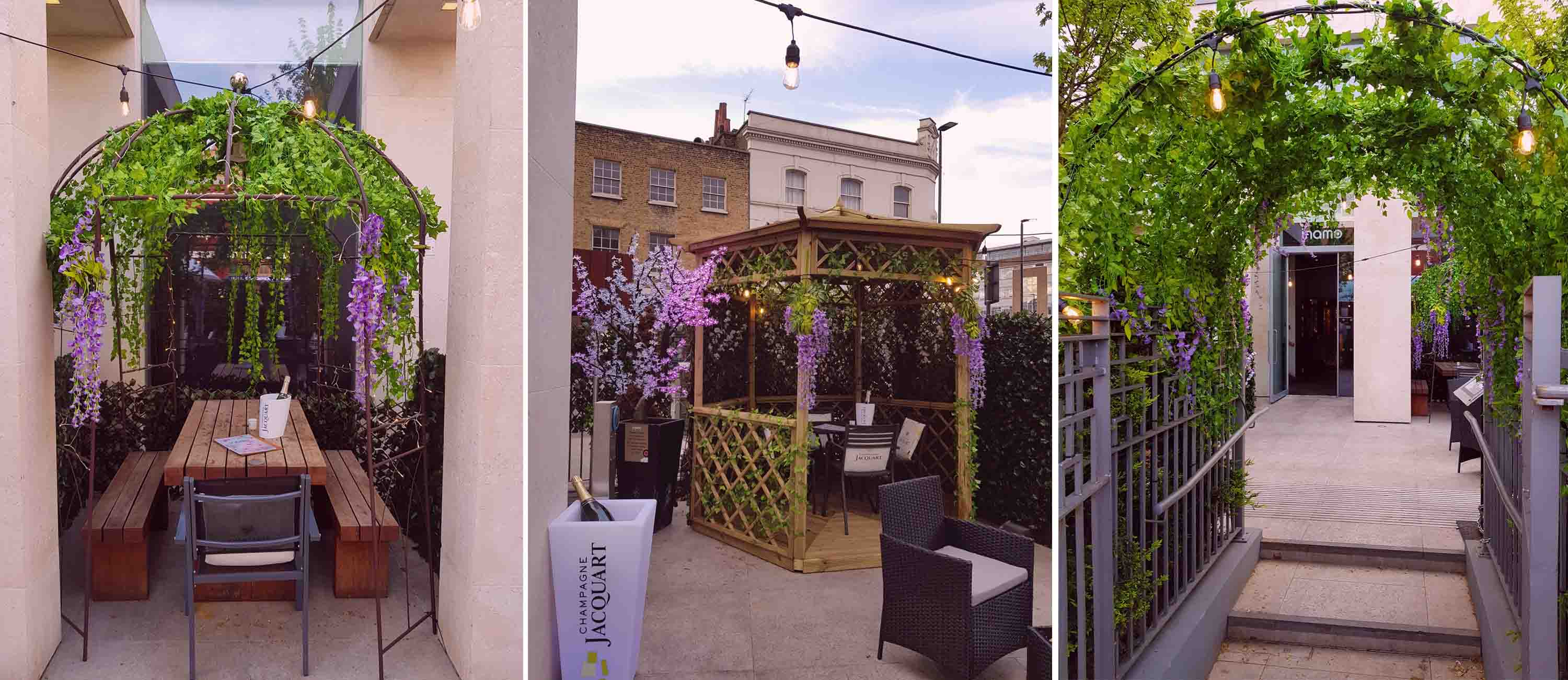 Secret Garden at inamo Camden